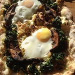 spinach, egg, recipe, wood fired recipe, bella pizza oven