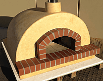 Toscana80 Fully Assembled Pizza Oven