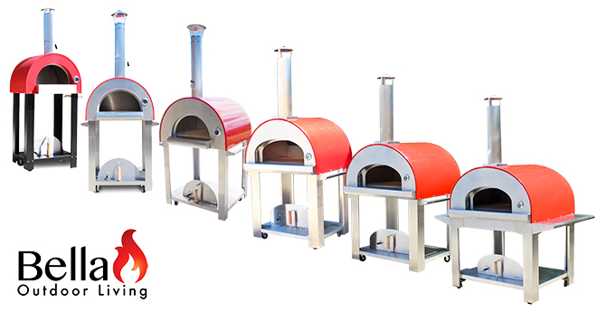 bella outdoor living, wood fired ovens, portable wood fired ovens, wood fired pizza ovens, residential wood fired pizza ovens, outdoor pizza oven, backyard wood fired pizza oven