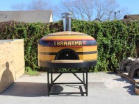 commercial pizza oven, forno bravo, wood fired oven, napoli140