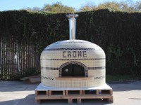 Vesuvio pizza oven with custom colors and lettering
