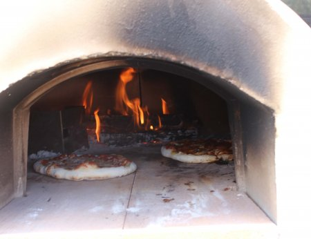 gas wood pizza oven
