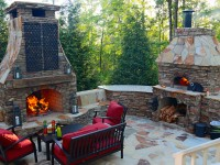 Casa Pizza Oven and Fireplace - Vaillant NC