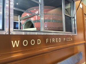 wood fired pizza food truck