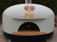 napoli commercial pizza oven pie logo
