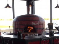 Napoli Commercial Pizza Oven Indoors