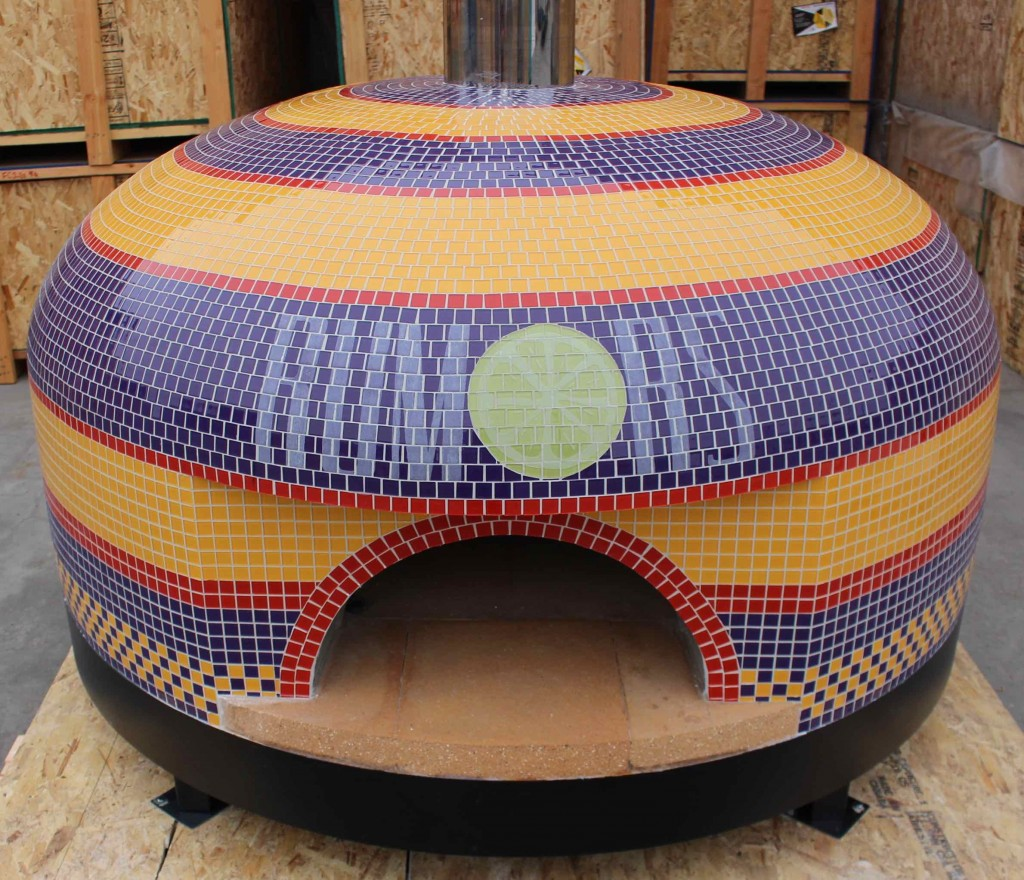 Napoli pizza oven rumors Missouri custom tiled pizza oven