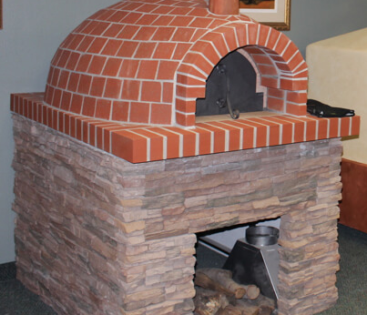 cucina100 wood pizza oven stand