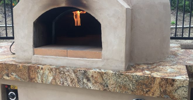 Casa90 Gas Pizza Oven Operating