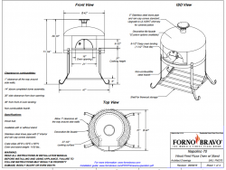 napolino70 outdoor pizza oven drawing