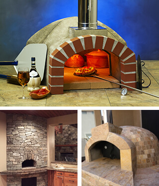 Residential Pizza Oven Kit Casa2G80 32