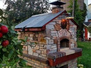 Wonderful Custom Outdoor Stone Pizza Oven Kit
