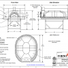 Modena180 FA Commercial Pizza Oven Drawing