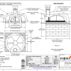 Modena2g120 commercial pizza oven kit drawing