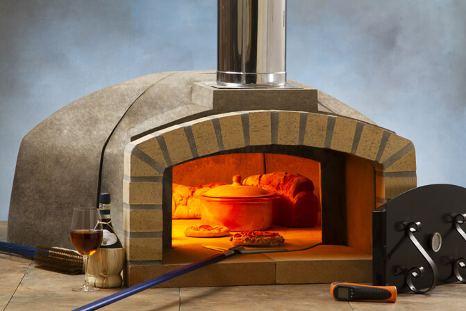 professionale commercial pizza oven kit