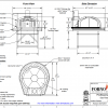 Professionale110 FA Commercial Pizza Oven Drawing