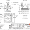 Professionale110 OK Commercial Pizza Oven Kit Drawing