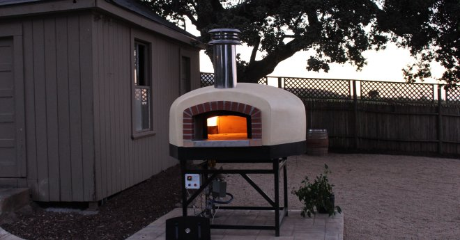 Roma Commercial Gas Pizza Oven Talbot Vineyards - Salinas CA