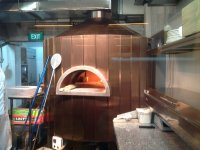 Modena Commercial Pizza Oven in Singapore. Installed by Forno Bravo distributor Asia Food Service Equipment. The restaurant is called Fabricca located at 69/70 Bussorah Street, Singapore, 199482.