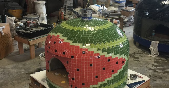 Napolino70 Outdoor Pizza Oven Watermelon