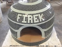 Napolino70 Outdoor Pizza Oven Firek