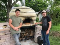 Vesvuio Pizza Oven Chann 4