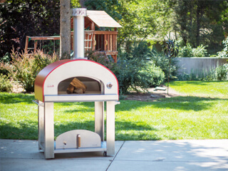 Primavera wood fired pizza oven