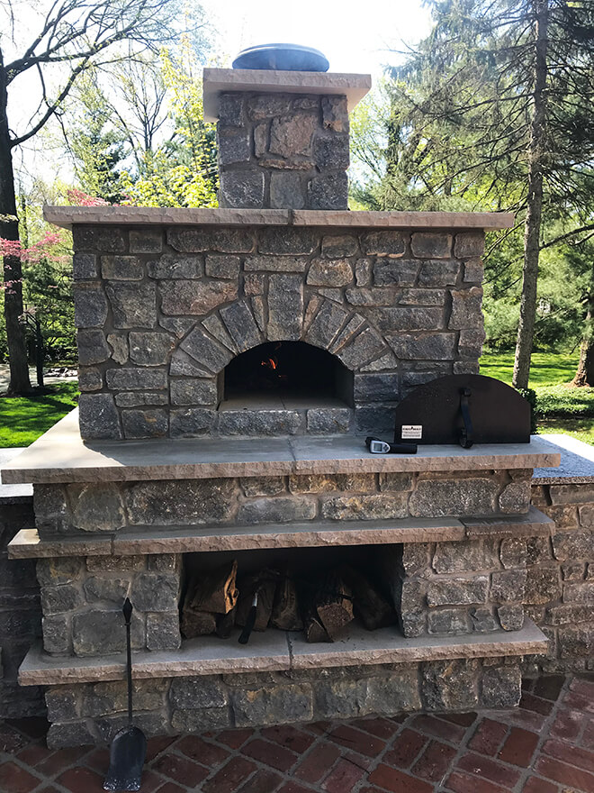 Casa Home Pizza Oven Outdoor Installation Gallery Forno