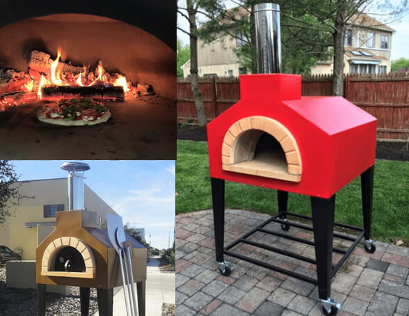 Andiamo Portable Wood Fired Pizza Oven