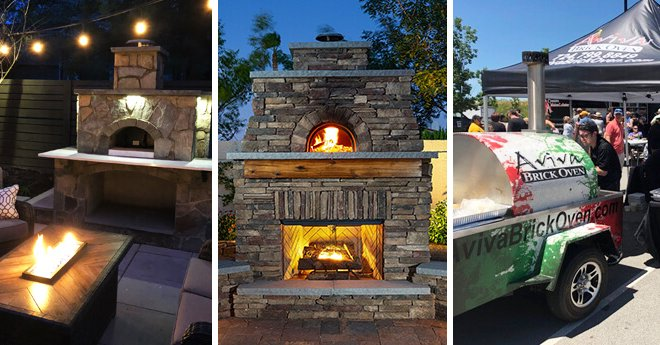 Customer Pizza Oven Photos