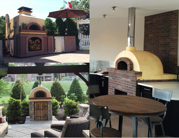 Toscanan Hipped, Domed, or Gabled Pizza Oven
