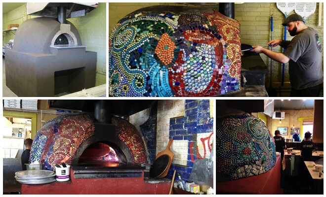 4-Pic of Mosaic Pizza Oven