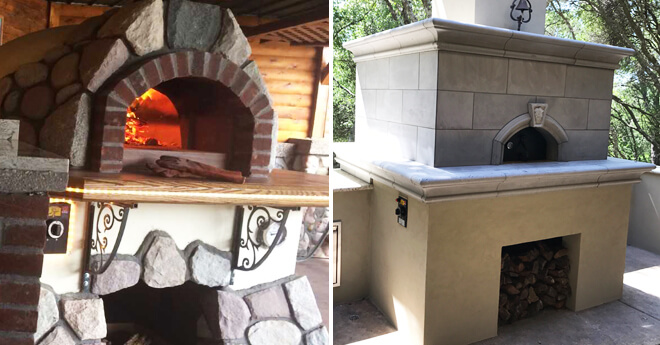 Outdoor Gas Pizza Ovens Brick Ovens For Sale Forno Bravo