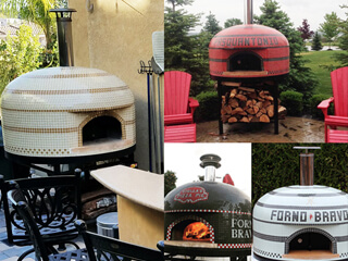 Vesuvio Custom Pizza Oven