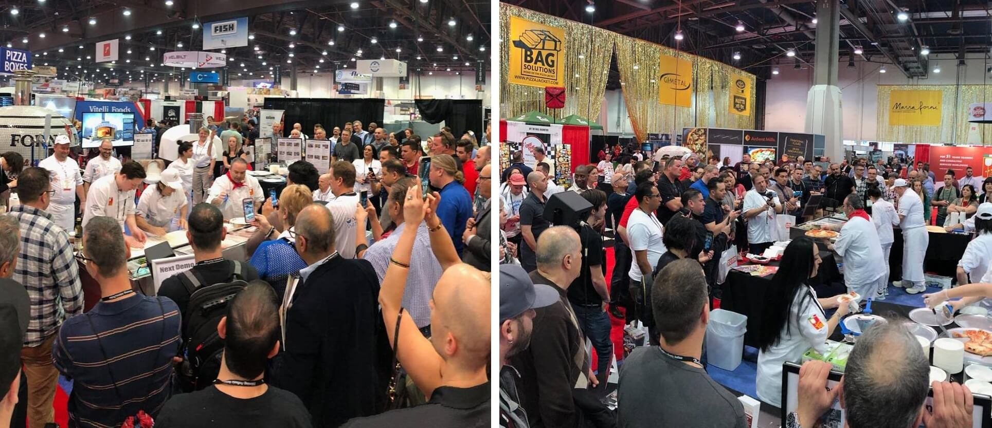 Crowd-chefs-forno bravo booth