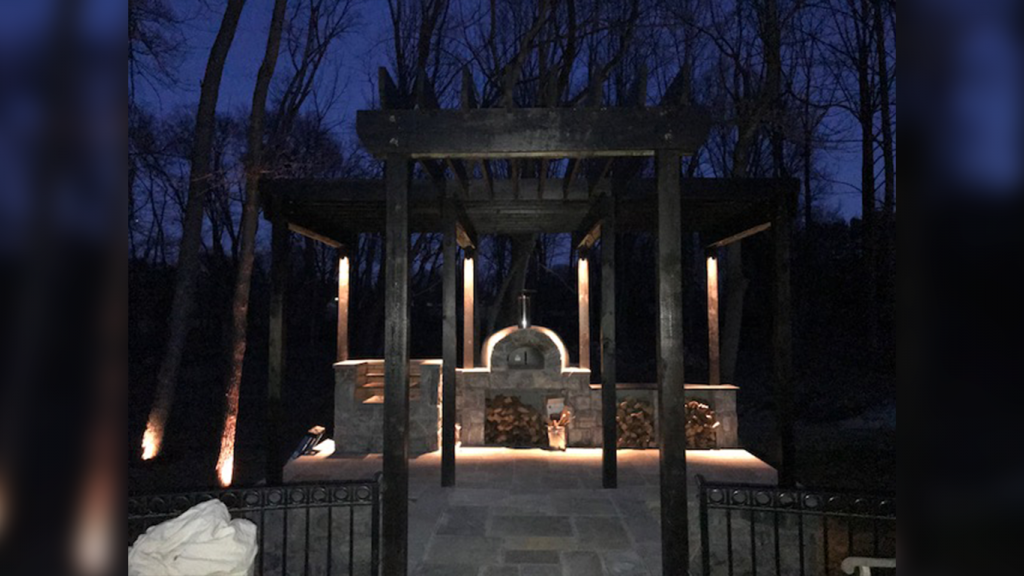 Casa110-customer-night view installed by Rembrandt Builders