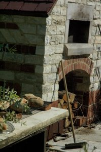 Stone oven structure-tool-bread