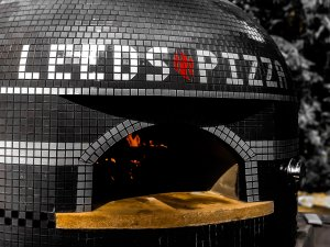 Tiled Oven with Logo