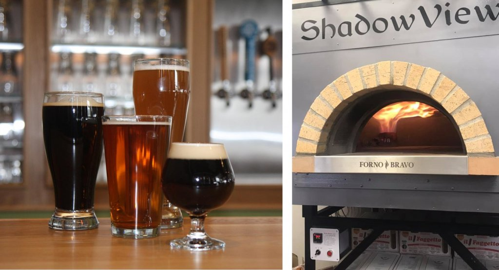 beer glasses-modena gas oven